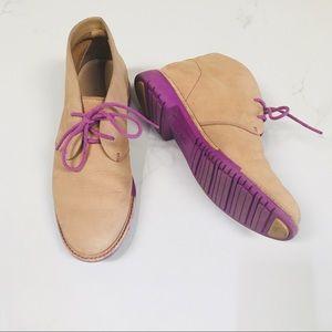 Cole Haan Beige Booties/ Boots Size 5 1/2B